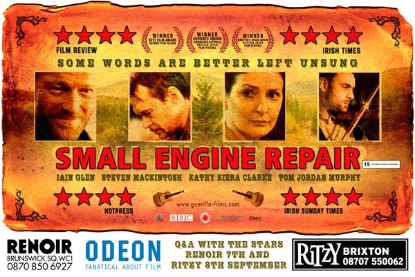 Small Engine Repair - Iain Glen - British Actor