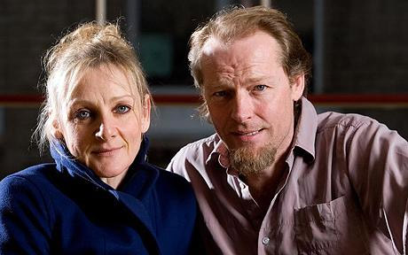 Iain Glen and Lesley Sharp, stars of Ibsen's Ghosts